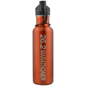 26.2 Marathoner 24 oz Stainless Steel Water Bottle
