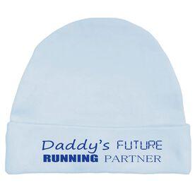 Daddy's Future Running Partner Baby Cap