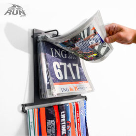 BibFOLIO Plus Race Bib and Medal Display