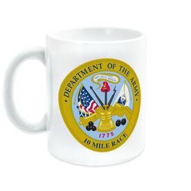 Running Ceramic Mug Army 10 Miles Seal