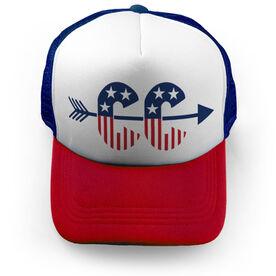 Cross Country Trucker Hat - Patriotic Cross Country