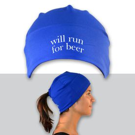 Performance Ponytail Cuff Hat Will Run For Beer