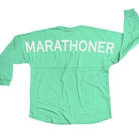 Running Statement Jersey Shirt Marathoner