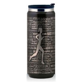 Stainless Steel Travel Mug Inspiration Words Female