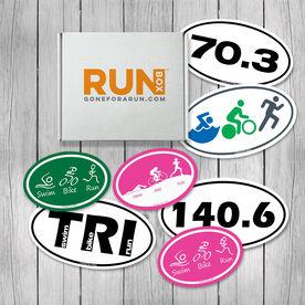 RUNBOX Gift Set - Triathlon Magnets