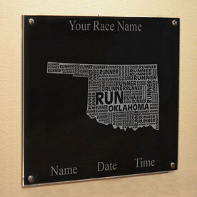 Oklahoma State Runner Wall Art
