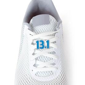 13.1 Half Marathon (Blue) - LaceBLING Shoe Lace Charm
