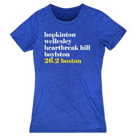 Women's Everyday Runners Tee - Run Mantra - Boston