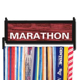 RunnersWALL Rustic Marathon Medal Display