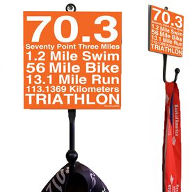 70.3 Math Miles Medal Hook