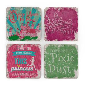 Running Stone Coaster Set of 4 - Magical Miles
