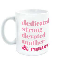 Running Ceramic Mug - Mantra Mother Runner