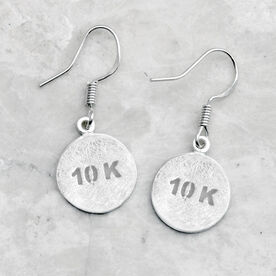 Livia Collection Sterling Silver Matte 10K Earrings