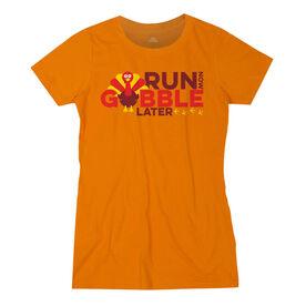 Women's Everyday Runners Tee - Run Now Gobble Later