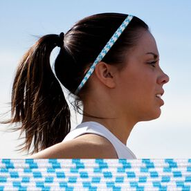 Bunji BAND Elastic Headbands for Athletes - Hydrangea