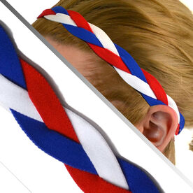 GripBand Headband - Red White Blue