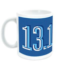 Running Ceramic Mug 13.1 Half Marathon (Dimensional)