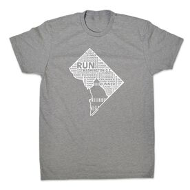 Men's Lifestyle Runners Tee District of Columbia State Runner