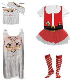 Santa Claus Running Outfit