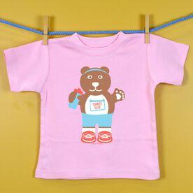 Baby T-shirt Runner Bear