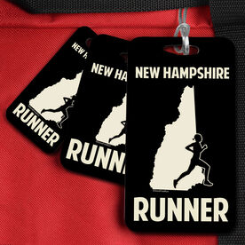 Bag/Luggage Tag New Hampshire State Runner Female