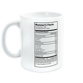 Running Ceramic Mug Runner's Facts