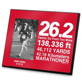 Running Photo Frame 26.2 Math Miles