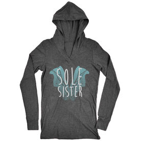 Women's Running Lightweight Performance Hoodie Sole Sister Love