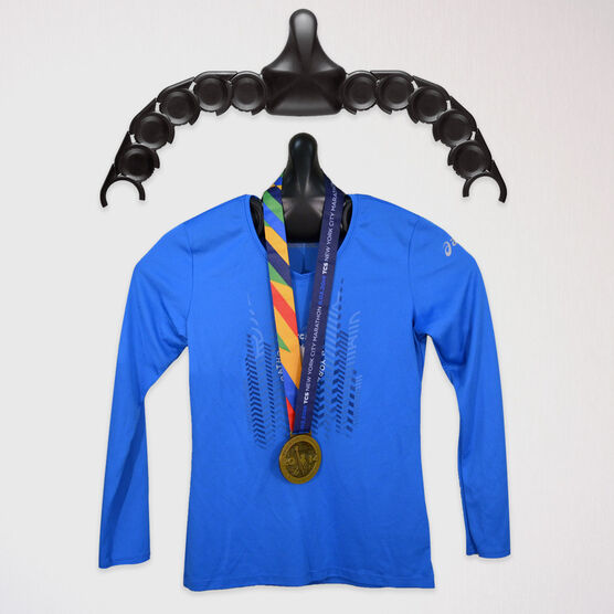 JerseyGenius Race Shirt and Medal Display For Runners