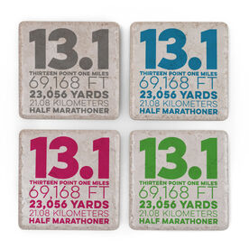 Running Stone Coaster Set of 4 - 13.1