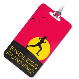 Endless Running (Female) Personalized Sport Bag/Luggage Tag