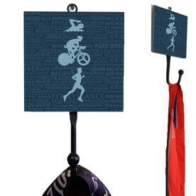 Medal Hook Tri Inspirational Male