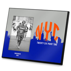 Running Photo Frame New York Twenty Six Point Two