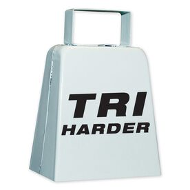 TRI HARDER Cow Bell