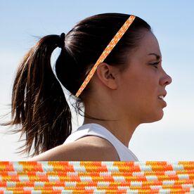 Bunji BAND Elastic Headbands for Athletes - Coral Bells