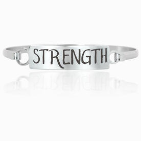 Running Engraved Clasp Bracelet InspireSTRENGTH