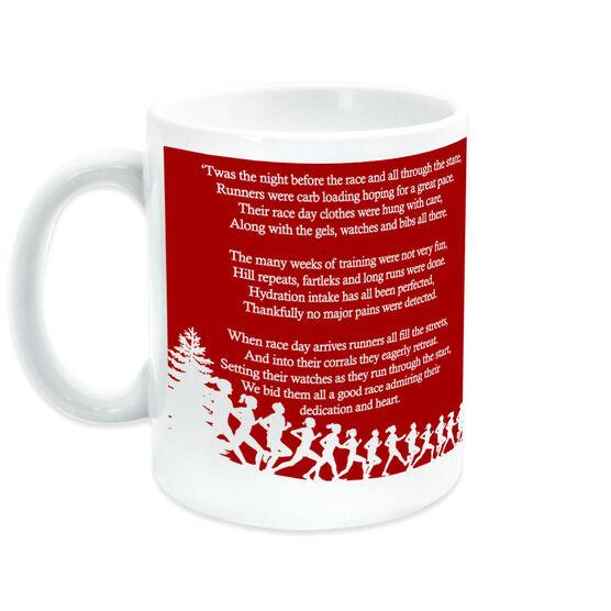 Running Ceramic Mug Twas The Night Before The Race