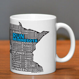 Running Ceramic Mug Minnesota State Runner