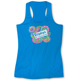 Women's Performance Singlet Running Oh The Places You'll Go