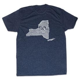 Men's Lifestyle Runners Tee New York State Runner
