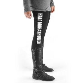 Running High Print Leggings Half Marathoner
