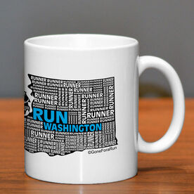Running Ceramic Mug Washington State Runner