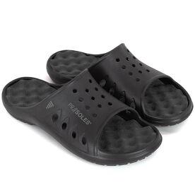 PR SOLES® Recovery Sandals - Black