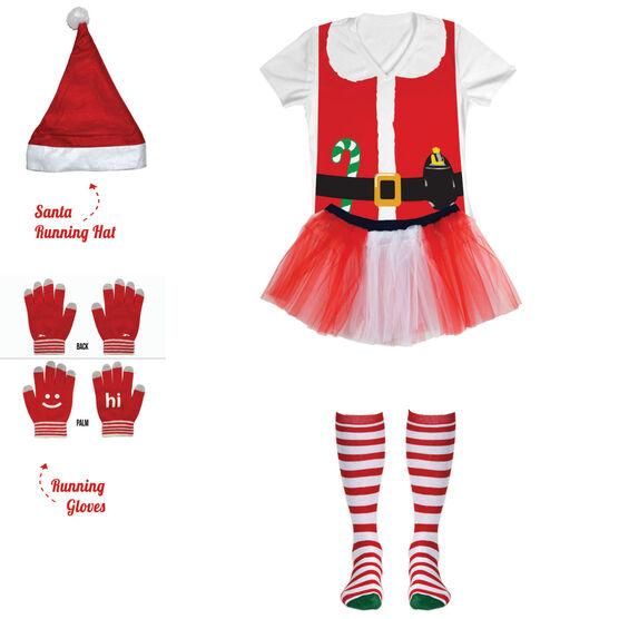 Runner Santa Running Outfit