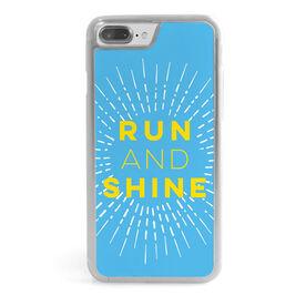 Running iPhone® Case - Run and Shine