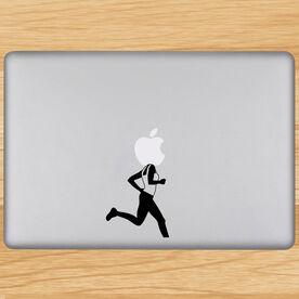 Runner Girl Removable GoneForaRunGraphix Laptop Decal