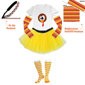 Run Now Gobble Later Running Outfit