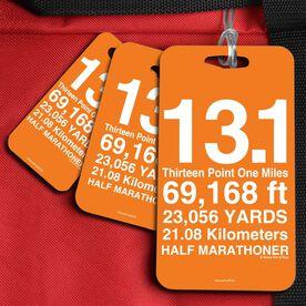 Running Bag/Luggage Tag 13.1 Math Miles