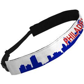 Julibands No-Slip Headbands Philadelphia Skyline