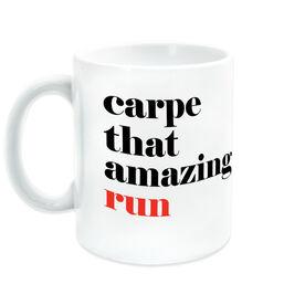 Running Ceramic Mug - Carpe That Amazing Run